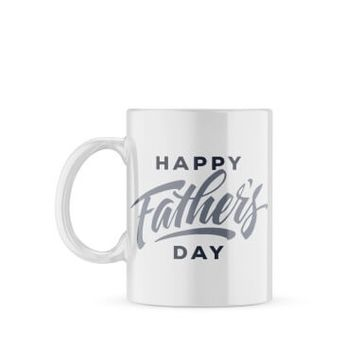 Personalised Fathers Day Photo Mug