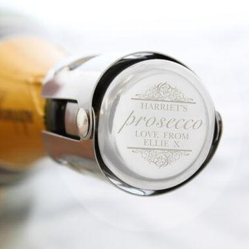Personalised Prosecco Bottle Stopper