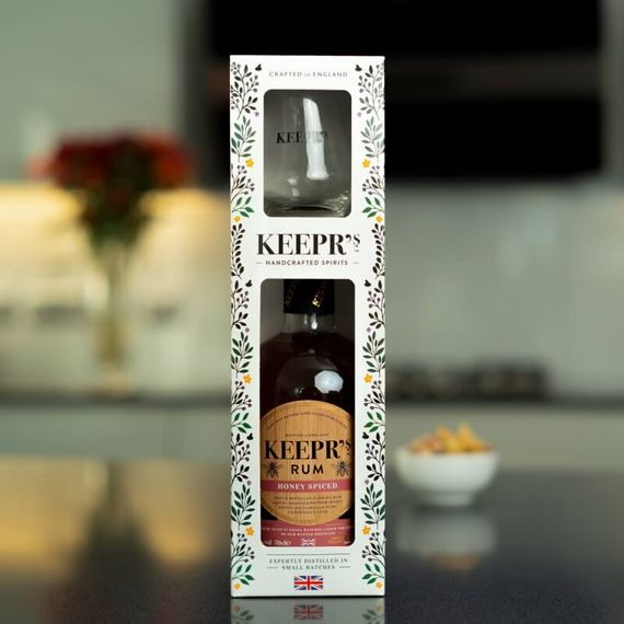 Personalised Keepr's Rum Tasting Gift Box