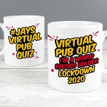 Jay's Virtual Pub Quiz World Record Holder Mug
