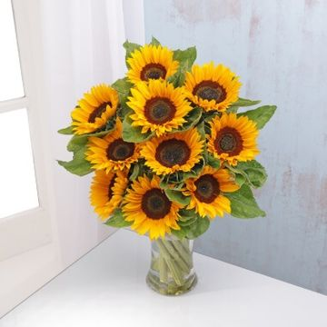 English Sunflowers Bouquet