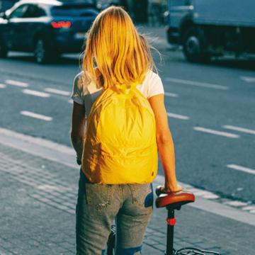 Nomad Foldable Backpack - Banana