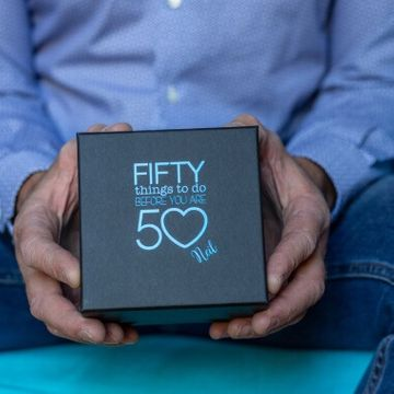 Personalised Fifty Things To Do Before 50