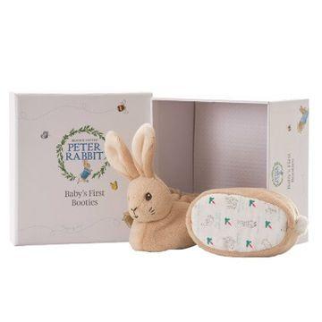Peter Rabbit Booties Set