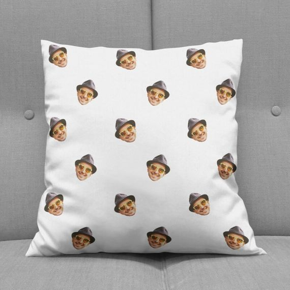 Personalised Face on Cushion