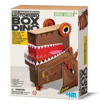 Build Your Own Box Dino Robot