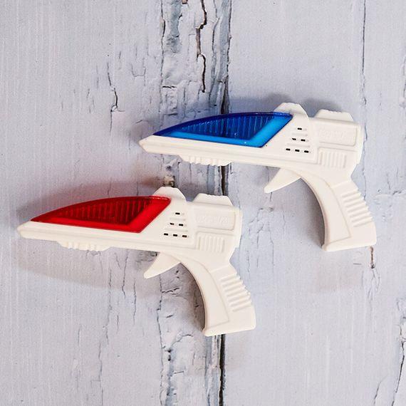 World's Smallest Laser Guns