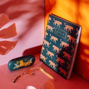 Leopard Love A4 Notebook