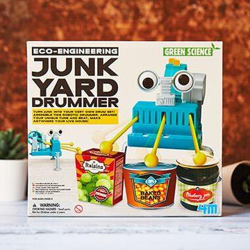 Junk Yard Drummer Robot