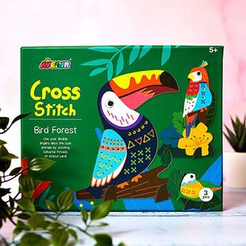 Bird Forest Cross Stitch Kit