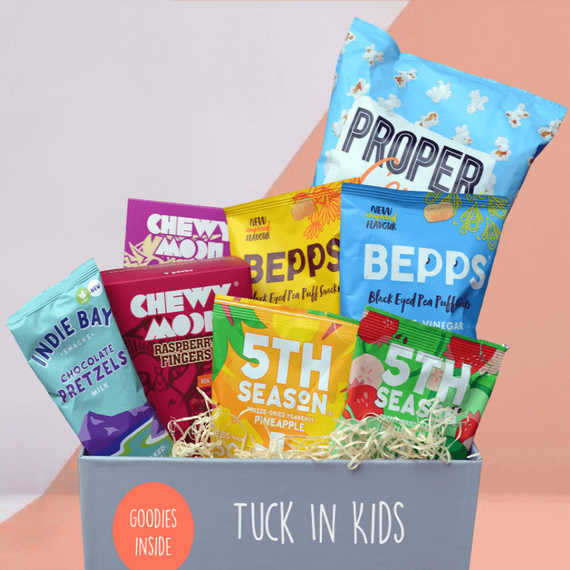 Kids Healthy Snacks - Mighty Small Foodies Box