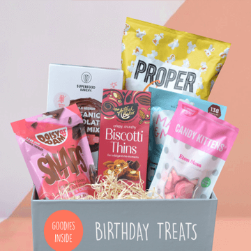 Birthday Celebration - Mighty Small Foodies Box