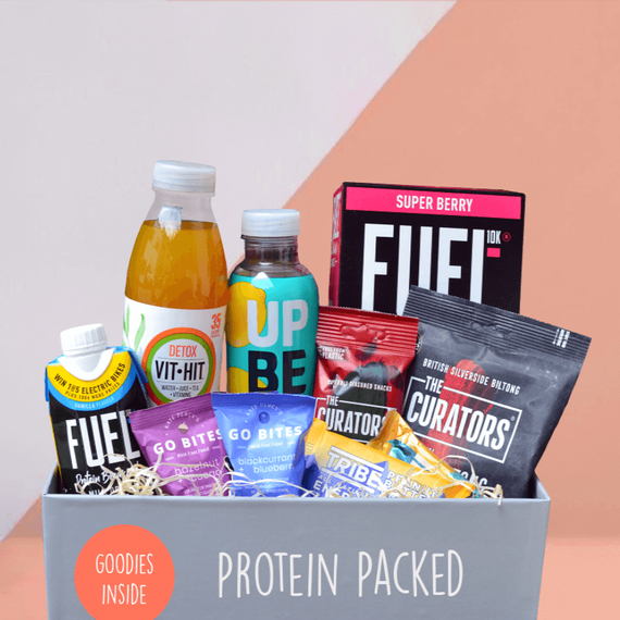 Protein Packed - Mighty Small Foodies Box