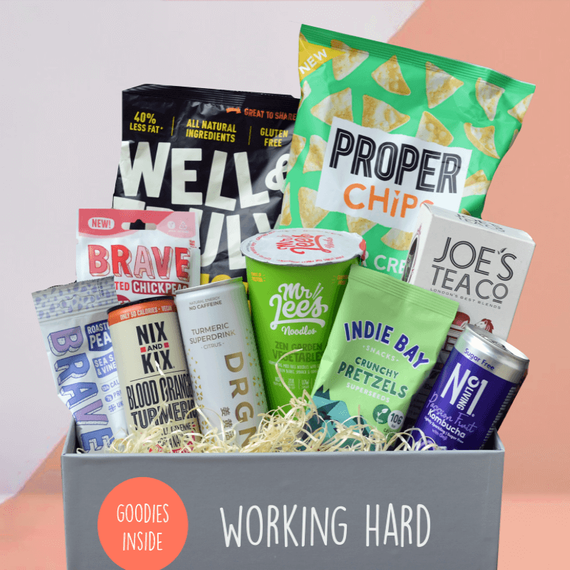 Working From Home - Mighty Small Foodies Box