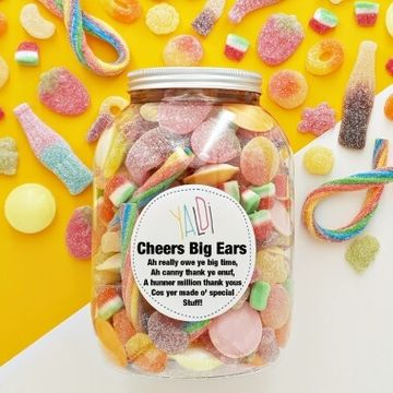 Occasions Greedy Guys Sweet Jar
