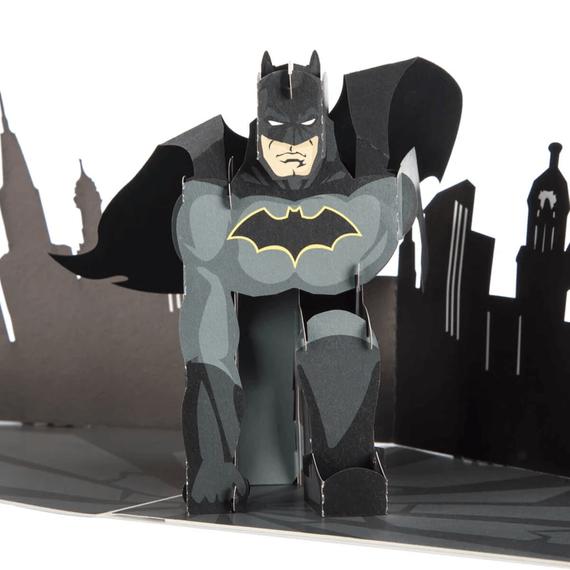 Batman Pop Up Card