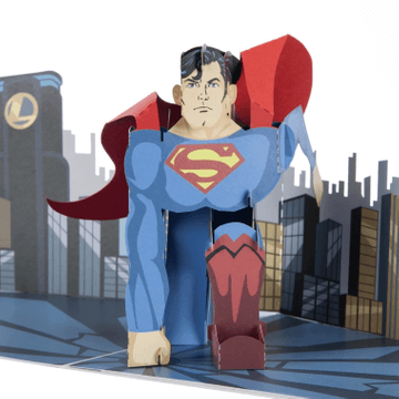 Superman Pop Up Card