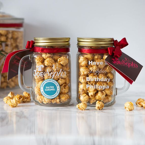 Personalised Popcorn Mason Jar
