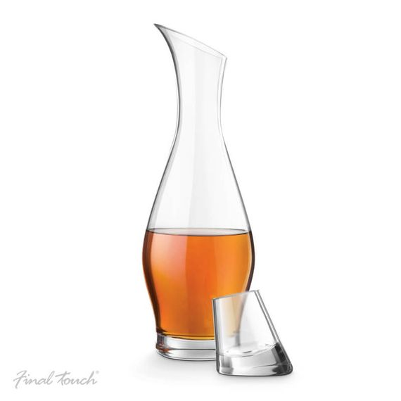 Final Touch Durashield Entasisi Spirit Decanter With Stopper