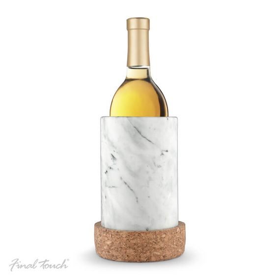 Marble And Cork Bottle Chiller