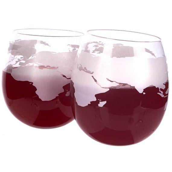 Mixology Globe Rocker Glasses - Pack Of 2