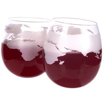 Mixology Globe Rocker Glasses - Pack Of 2