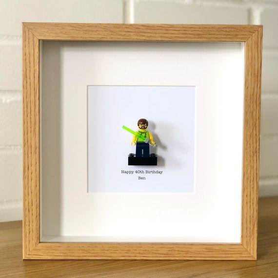 Personalised Build Me Mini Figure