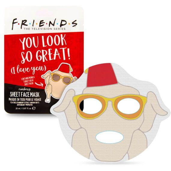 Warner Friends Turkey Face Mask