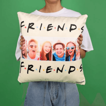 Personalised Friends Multi-Photo Cushion