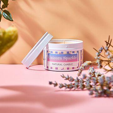 Unicorn Sparkle Small Tin Candle