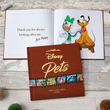 Personalised Disney Pets Book