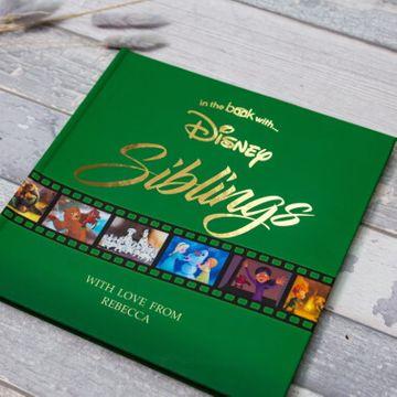 Personalised Disney Siblings Book