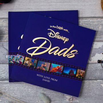 Personalised Disney Dads Book