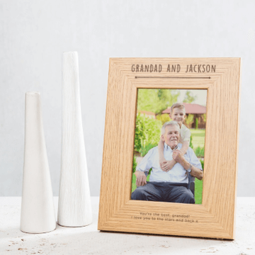 Personalised Grandad & Me Photo Frame