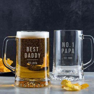 Personalised Dads Beer Tankard
