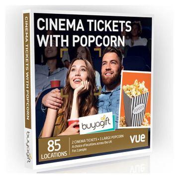 Cinema Tickets with Popcorn Experience Box