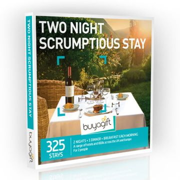 Two Night Scrumptious Stay Experience Box