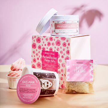 Marshmallow & Rose Pamper Pack