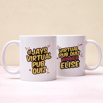 Personalised Jay's Virtual Pub Quiz Mug