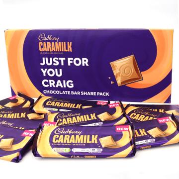 Personalised Cadbury Caramilk Share Pack