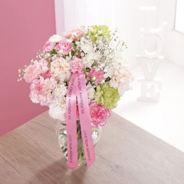Personalised Classic Carnation Bouquet