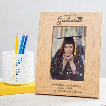 Personalised Graduation Photo Frame