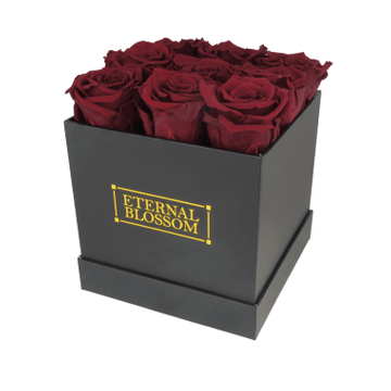 One Year Roses Box - 9 Piece