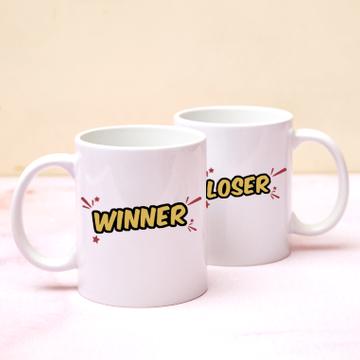 Jay's Virtual Pub Quiz Winner & Loser Mug Set
