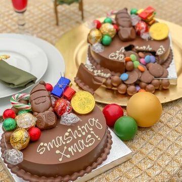 Personalised Christmas Mini Smash Cake
