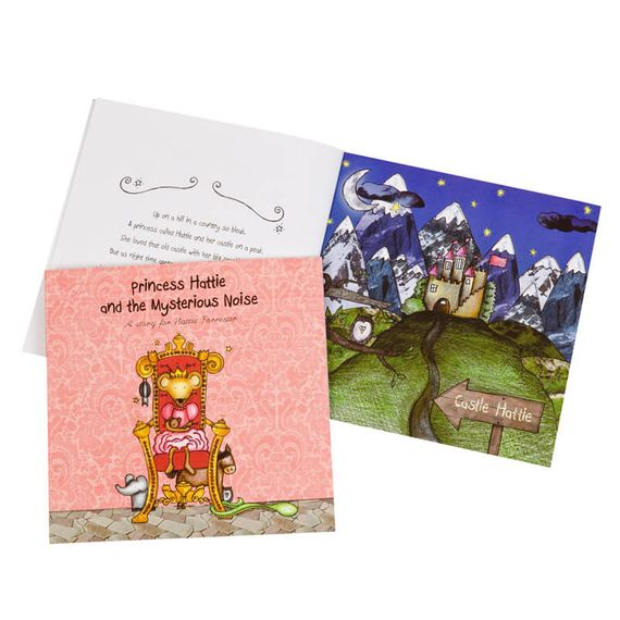Personalised The Princess and the Mysterious Noise