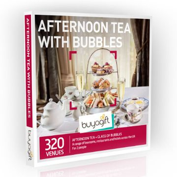Afternoon Tea with Bubbles Experience Box