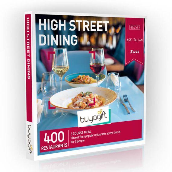 High Street Dining Experience Box