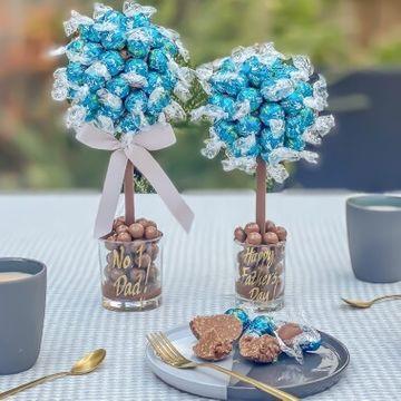 Personalised Salted Caramel Lindor Sweet Tree