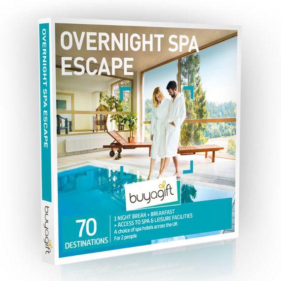 Overnight Spa Escape Experience Box